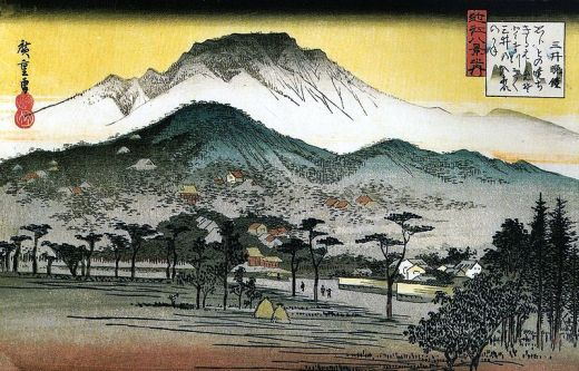 800px-Hiroshige_-_8_Views_of_Omi_-_4._Evening_Bell,_Mii_Temple