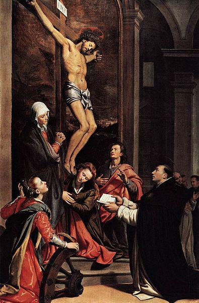 395px-Santi_di_Tito_-_Vision_of_St_Thomas_Aquinas_-_WGA22722